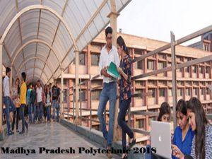 Madhya Pradesh Polytechnic MP PPT 2018 exam information.