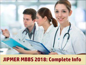 JIPMER MBBS 2018 Exam