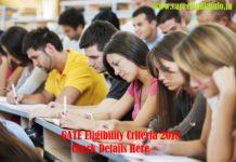 GATE Eligibility Criteria 2018