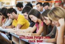 GATE Exam Pattern 2018