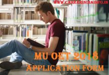 MU OET Application Form 2018