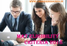MAT Eligibility Criteria 2018