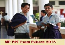 MP PPT Exam Pattern 2018