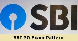 SBI PO Exam Pattern 2020 Details
