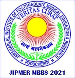 JIPMER MBBS 2021 Exam Details