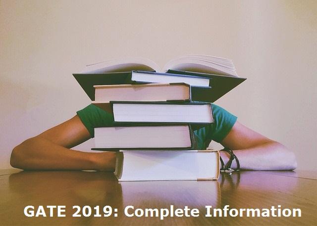GATE 2019 Exam Details